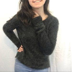 NWOT Hollister Oversized Fuzzy Sweater